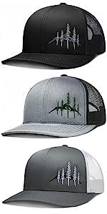 LARIX Wild Mountain Trucker Hat
