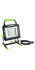 led tripod work light, work light tripod, tripod worklight, led work light, work light, job site
