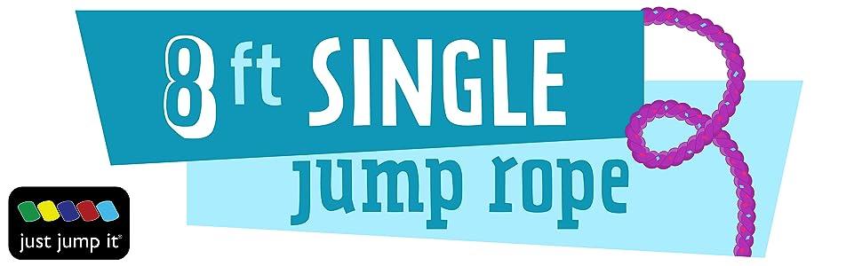 8 ft single jump Rope