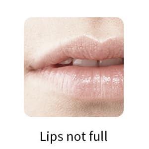 Lips not full