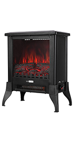 17 Inch Height Freestanding Electric Fireplace Stove