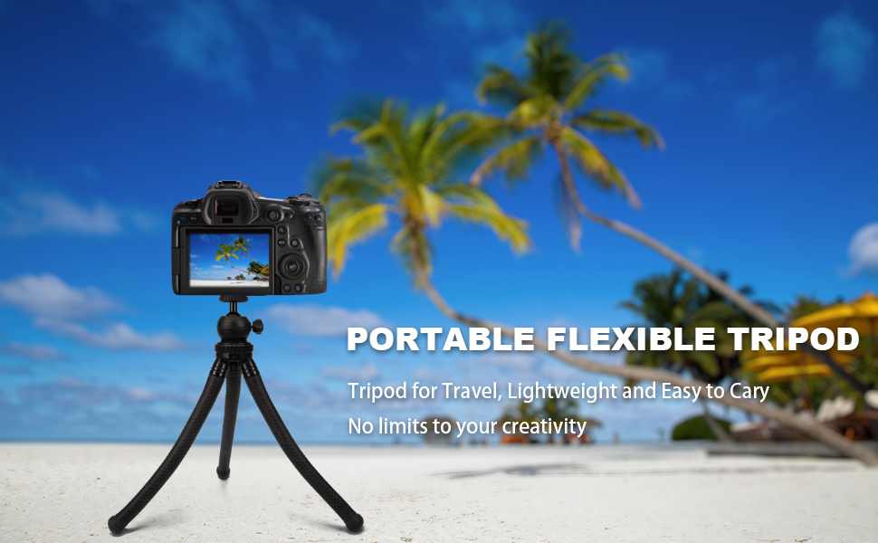 Portable Flexible Tripod