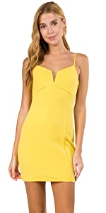 solid dress