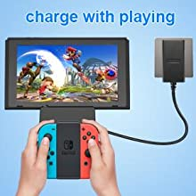 Nintendo Switch TV dock station with HDMI Cable
