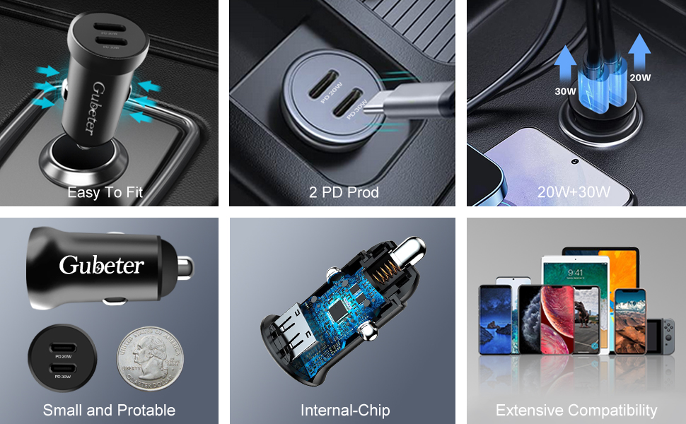 Dual Car Charger Specification