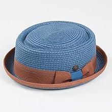 Rico Atlantic Blue Porkpie Hat