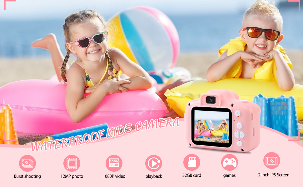 waterproof kids camera