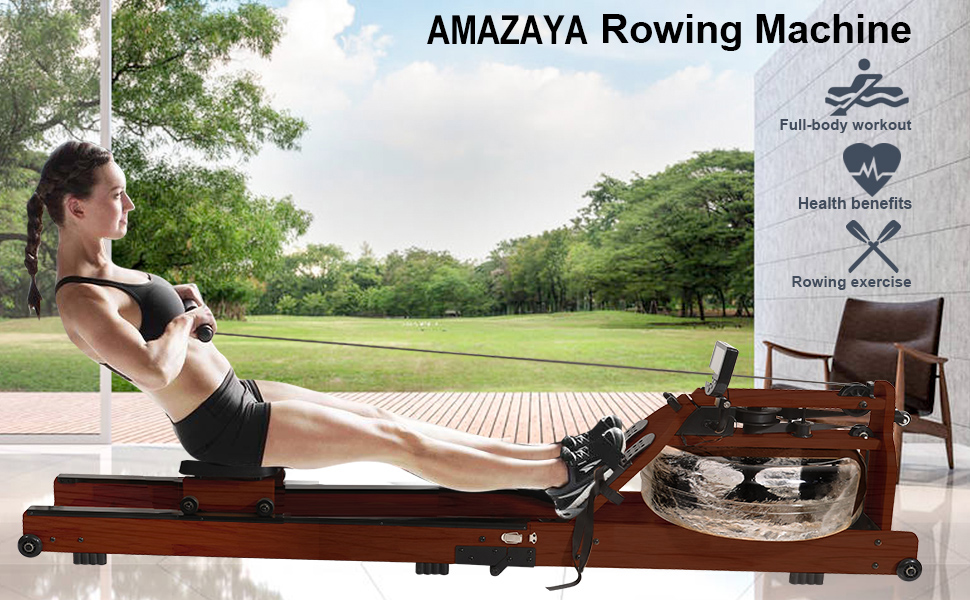 AMAZAYA Rowing Machine