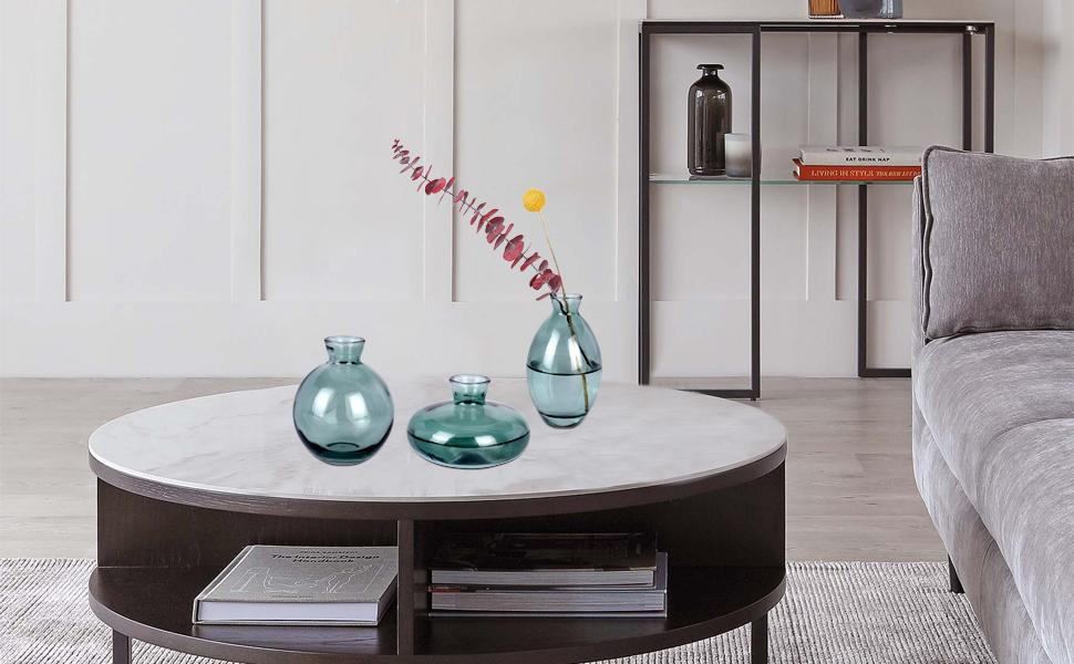 glass vase sets for bud flowers