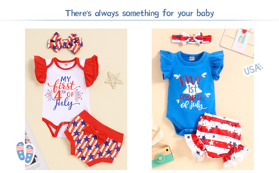 baby girl clothes my first 4th of july outfits clothes cute infant