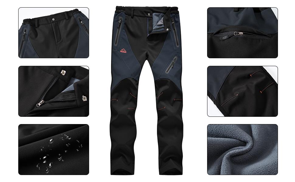 BGOWATU Womenamp;#39;s Snow Pants