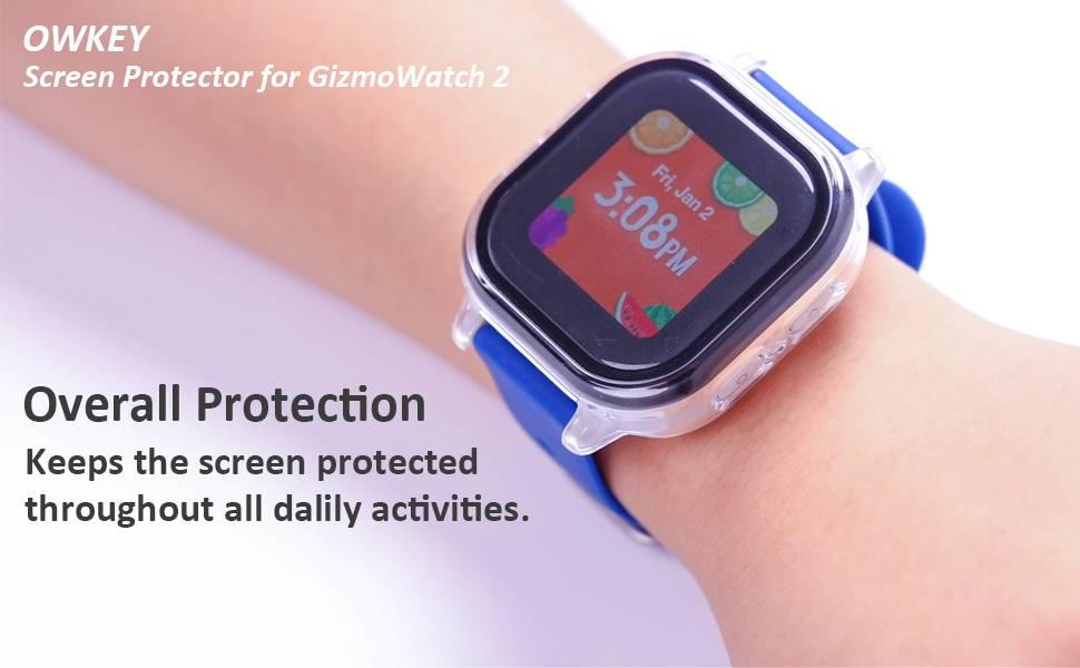 GizmoWatch 2 Screen Protector