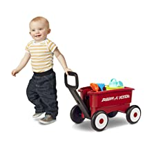 Radio Flyer red wagons 2 in 1 pull