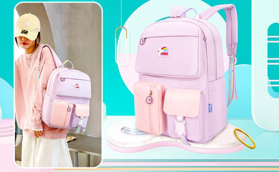 Children's backpack, detail display