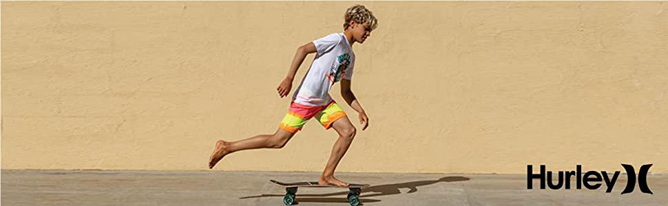 hurley kids, hurley swim, kids swim, kids apparel, hurley apparel