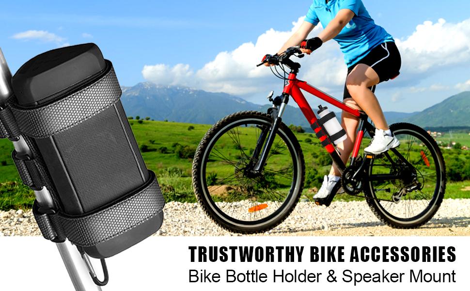 Bike Water Bottle Holder No Screws