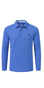 Menamp;amp;#39;s Long Sleeve Golf Polo Shirts