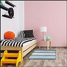 Bedside in a kid's bedroom. Children's playrooms