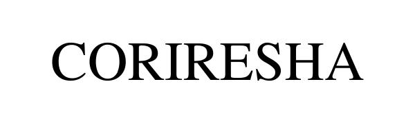 apparel clothing brand CORIRESHA logo