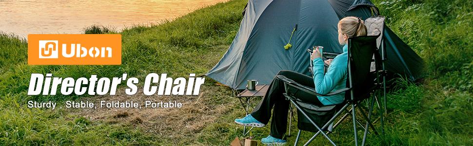 Ubon Portable Camping Director Chair