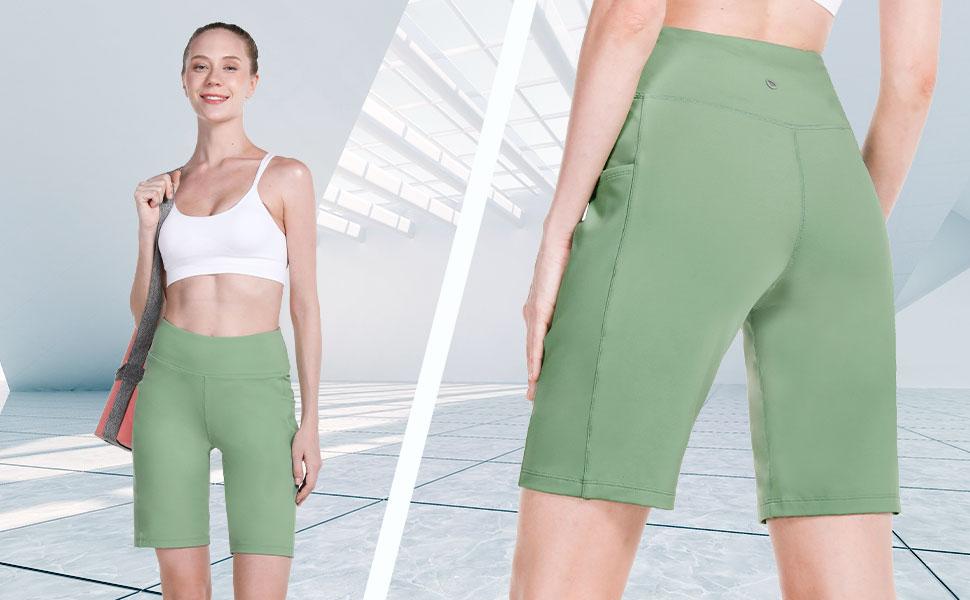 bermuda yoga shorts