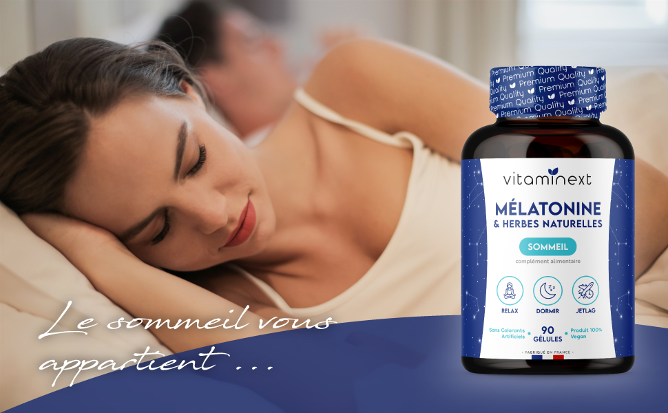 Mélatonine Complexe - Vitaminext