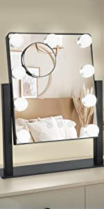 Personal Makeup Mirrors  with lights