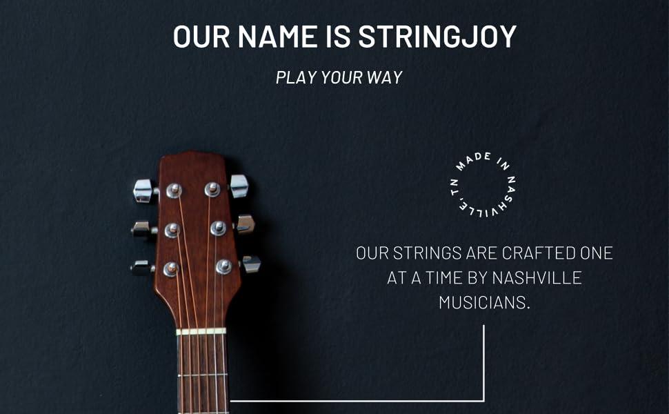 Stringjoy Product Description Guitar Photo 1