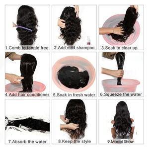 closure wigs human hair