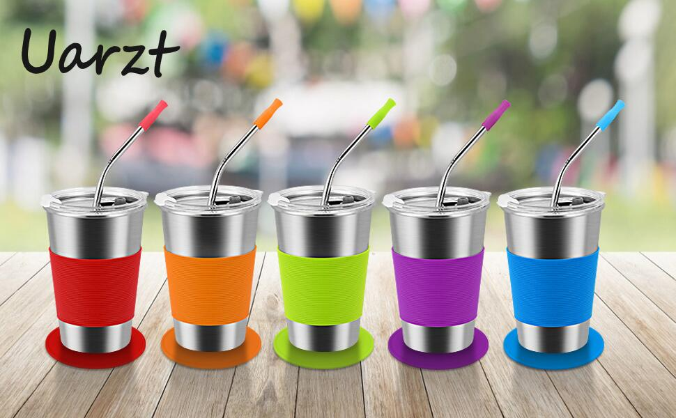 uarzt stainless steel cups
