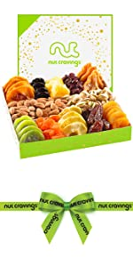 Green and white fruit mix tray
