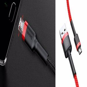 Baseus Cafule 2.4A Micro USB 0.5 Metre Şarj Kablosu