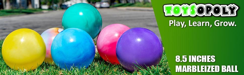 Marbleized Ball