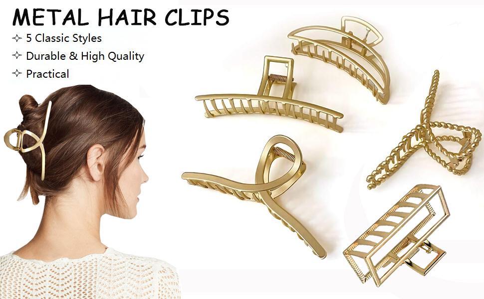 Metal Hair Clips