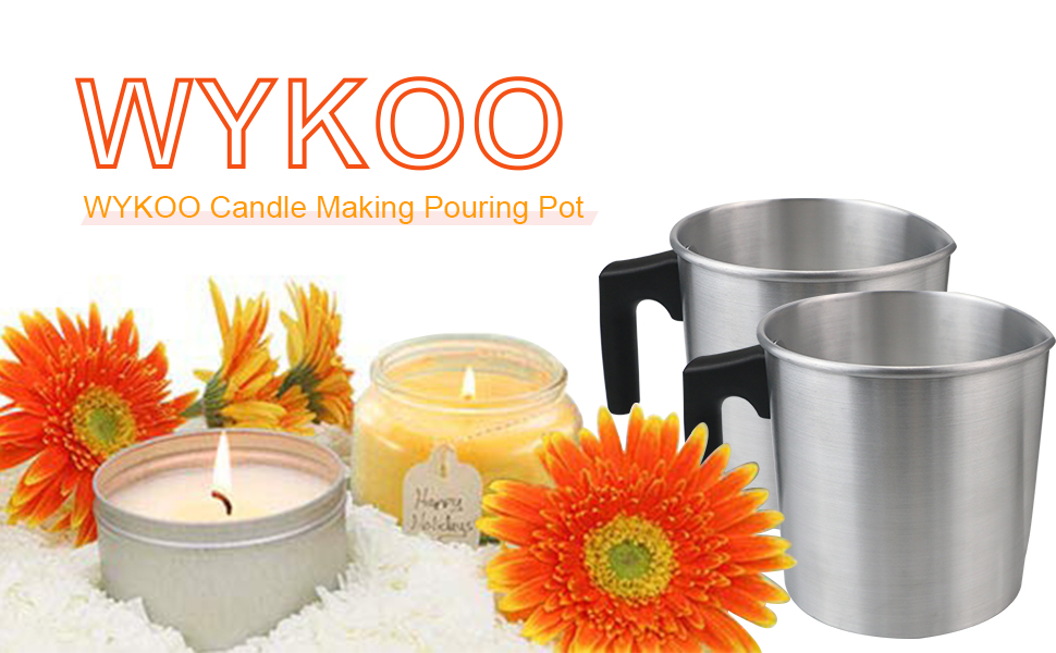 WYKOO Candle Making Pouring Pot