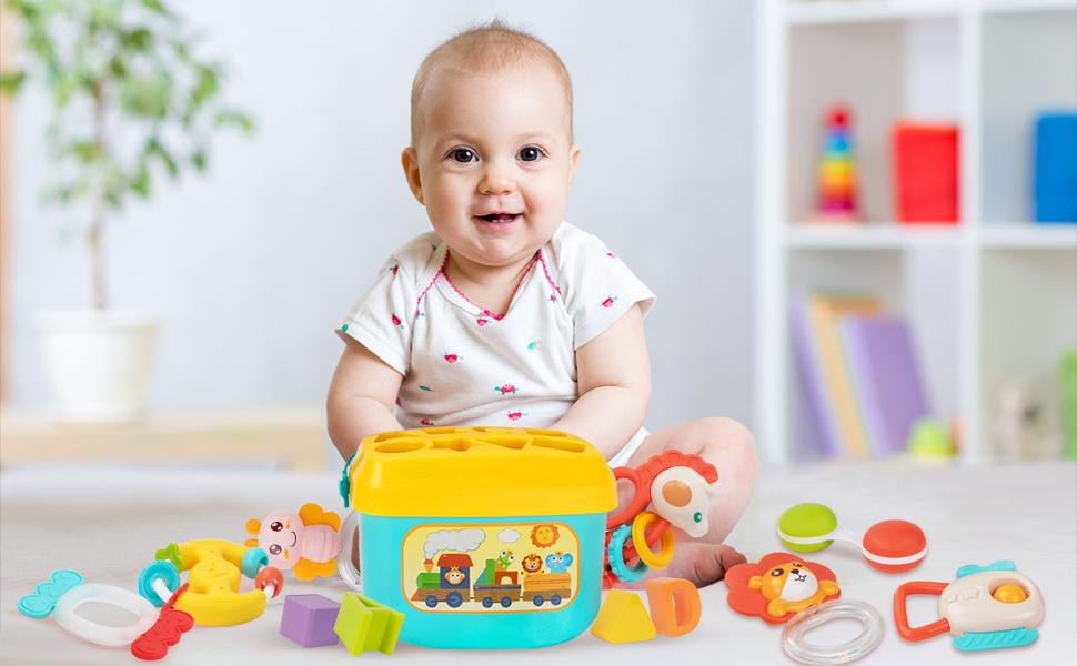 Baby Toys Rattles Set