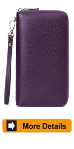 Zip Around Wallet for Women