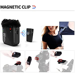Magnetic Clip System