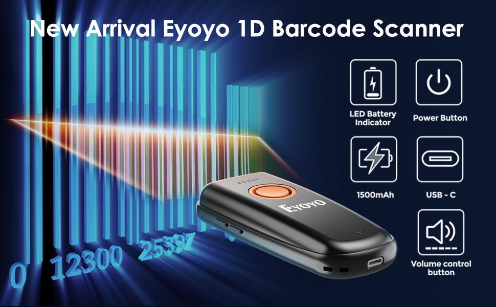 Eyoyo 1D Barcode Scanner