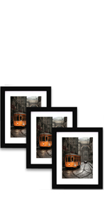 8x10  Picture Frames Set of 3