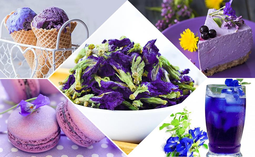 Blue Butterfly Pea Flower Tea