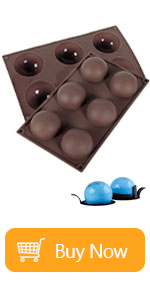 6 Holes Silicone Mold For Chocolate