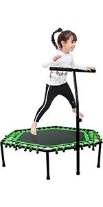 50 inches Hexagonal Fitness Trampoline