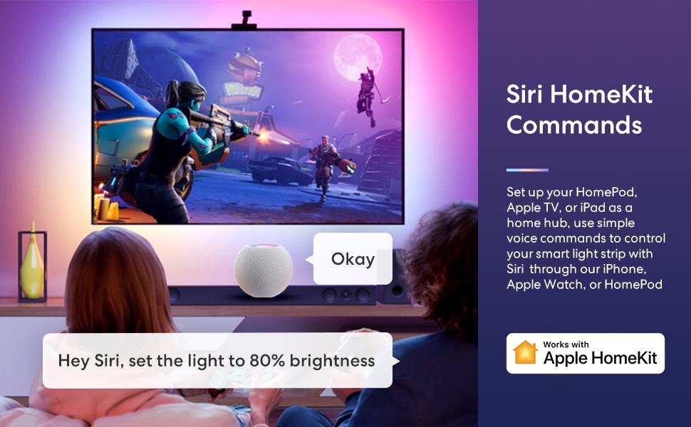 Apple Homekit smart light strip