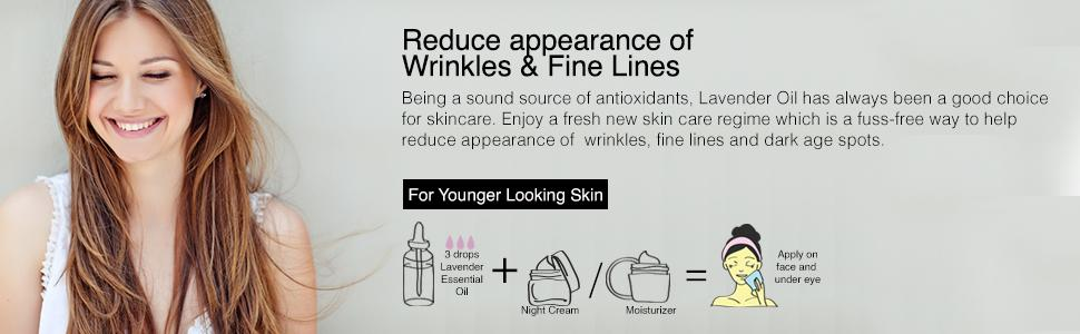 Reduces Appearance of Wrinkles & Fine Lines
