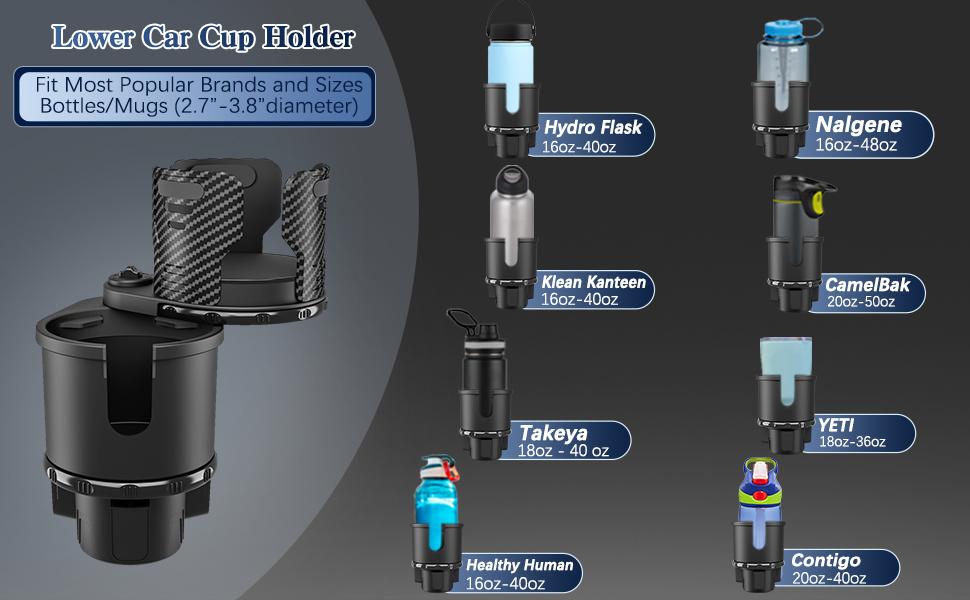 car cup holder expander