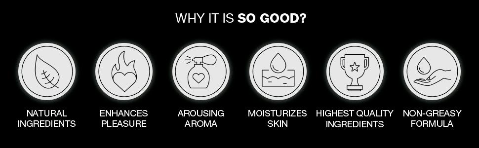 natural arousing moisturizing non greasy