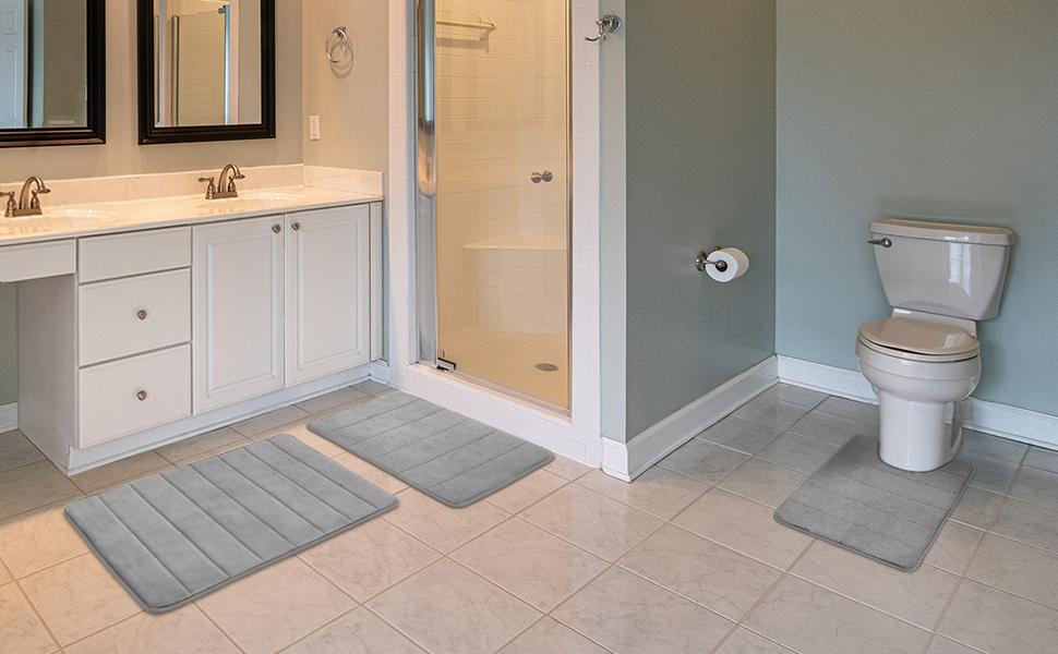memoey foam bathroom rug