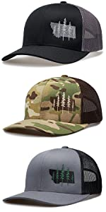 LARIX Wild Montana Trucker Hat