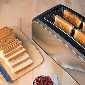 meilleur grille pain 4 tranches
